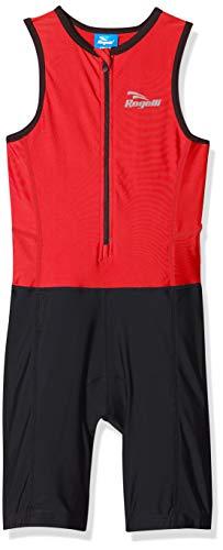 Rogelli Triathlon - Mono de triatlón, Color Azul, Primavera/Verano, Infantil, Color Negro - Negro y Azul, tamaño 140/152