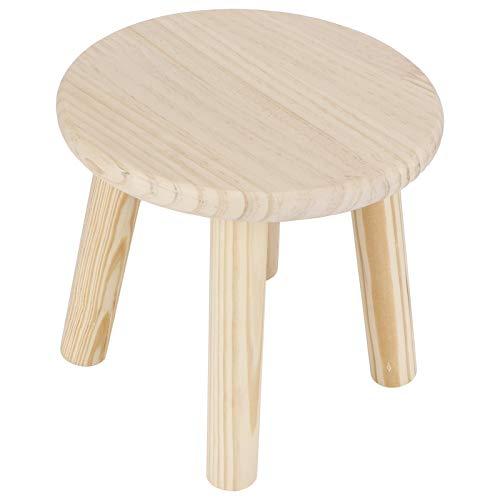 Taburetes de Madera Multiusos para el hogar Lindo Banco pequeño Asiento para niños Muebles de Bricolaje Taburetes de Paso(#2)