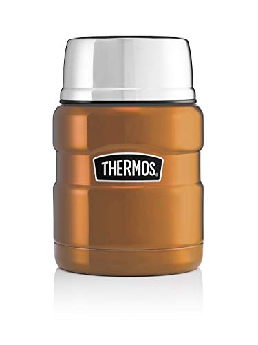 Picture of Thermos Stainless King Food Flask, Copper, 470 ml