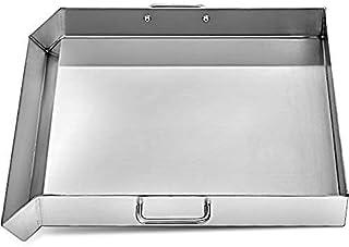 """Plaque supérieure plate en acier inoxydable de 32 """"x 17"""" Plaque de cuisson à trois brûleurs Plaque supérieure plate pour p..."""
