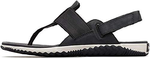 Sorel Out N About Plus Womens Sandals 38 EU Black