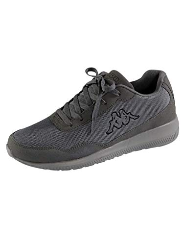 Kappa Follow OC, Zapatillas Unisex Adulto, Grey Black 1611, 41 EU