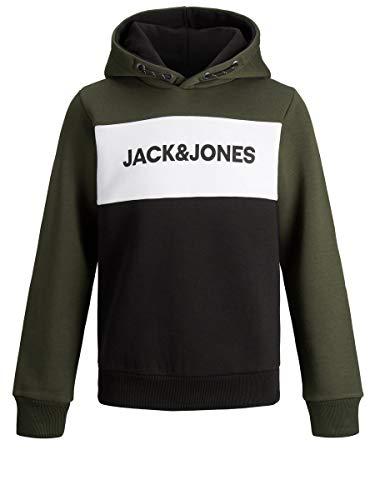 JACK & JONES Boy Hoodie Jungs Logo Sweat 152Forest Night