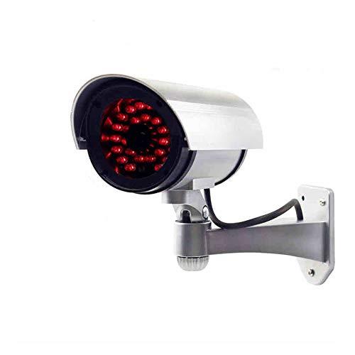 Jian E-& verkeerde bewakingscamera - simulatiecamera monitor / 220V kan worden aangesloten op de voeding met lichte inductieregen buitenshuis -