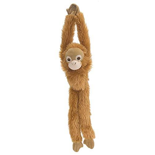 Wild Republic 14469 15254 Hanging Monkey Orang Utan Plüsch Affe, 51 cm