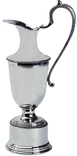 Pewter Golfing Trophy Claret Jarra de Peltre Pulido 25.5cm Ideal para Grabado