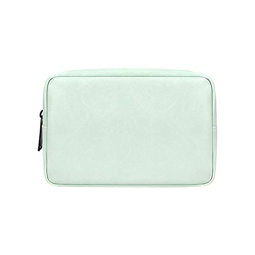 Pmall Accessories Organizer Bag, Travel Cable Organiser Bag, Universal Carry Travel Gadget Bag for USB Cable Drive, SD Card,Charger Hard Disk,Green