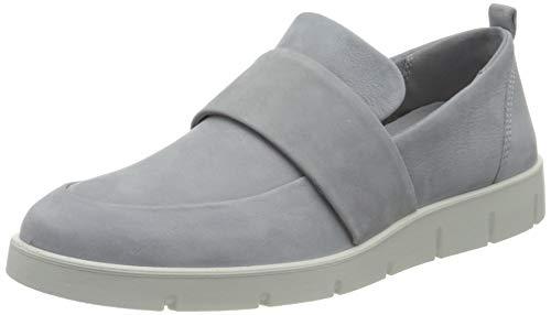 ECCO Damen Bella Loafer, Blau(Silver Grey), 36 EU