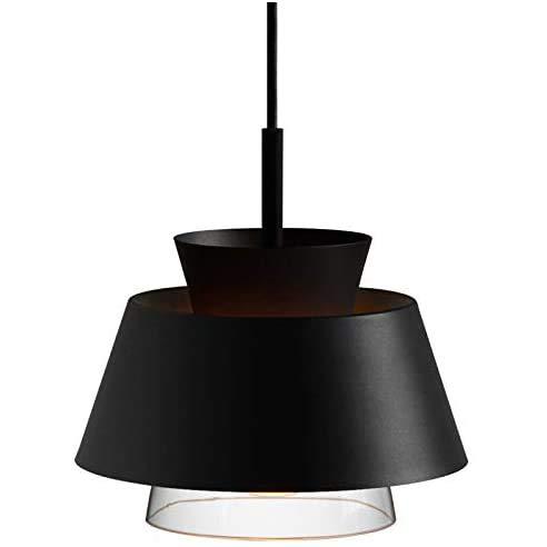 DONGYAN Kreative Und Einfache Dekorative Lampe Beleuchtung Lampe Design Kronleuchter Zimmer Studie Restaurant Café Gang Arbeitszimmer, Korridor, Schlafzimmer,Schwarz