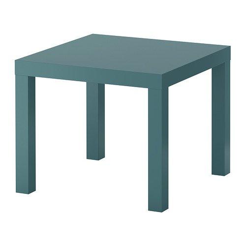 IKEA(イケア) LACK サイドテーブル グレーターコイズの写真