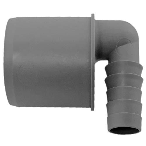 Schlauchwinkel 90° Übergang HT Rohr DN 40 auf Schlauch 3/4 Zoll (innen 18-21mm) Airfit