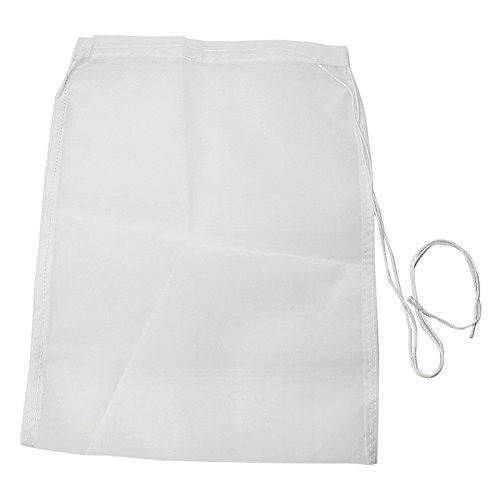 Pinzhi Sac Filtre Nylon Maille Blanc Réutilisable Non Toxique Filtrer Pâtes et Déchets