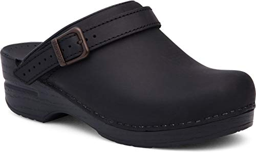 Dansko Women's Ingrid Black Mule 6.5-7 M US