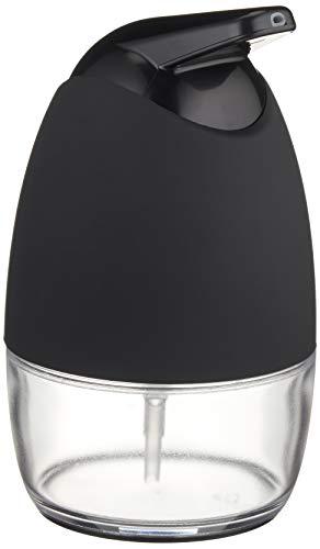 Amazon Basics - Dispensador de jabón - Giratorio, Negro