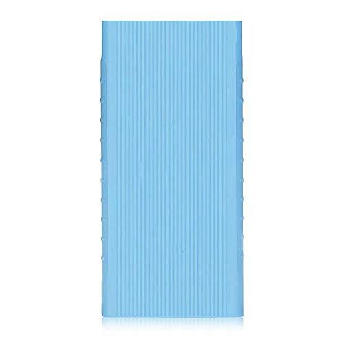 Silicon Soft Cover Protective Case TPU for Xiaomi MI Powerbank 2i 10000 mAh Blue Cover