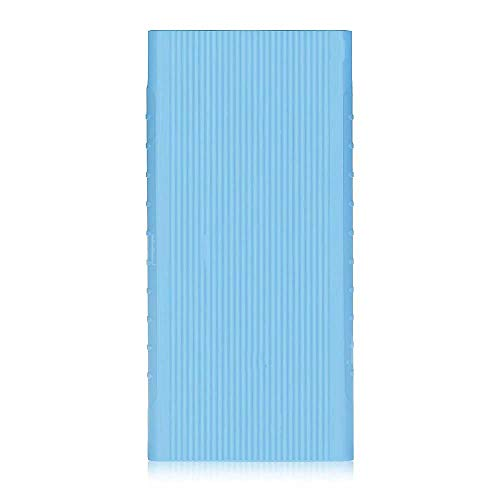 Silicon Soft Cover Protective Case TPU for Xiaomi MI Powerbank 2i 10000 mAh Blue Cover