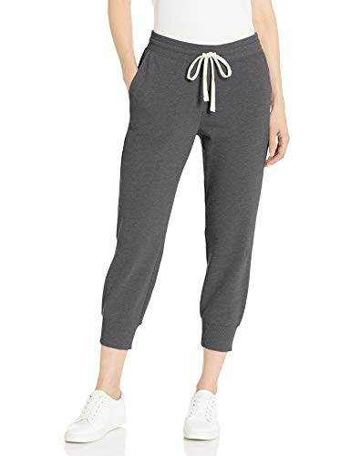 Amazon Essentials French Terry Fleece Capri Jogger Sweatpant Athletic-Pants, Antracite Grigio, US M (EU M-L)