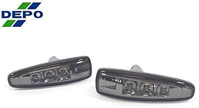 DEPO 2008-2012 Mitsubishi Lancer Evo 10 x Smoke LED Fender Side Marker Light Set