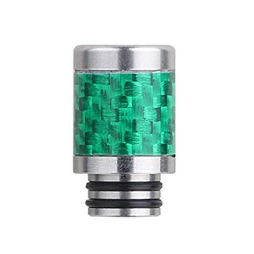 Hetangyuese Drip Tip Connessione Evaporatore Atomizzatore Acciaio Inox Porta Sigarette Driptip E Tubo dell'acqua Verde