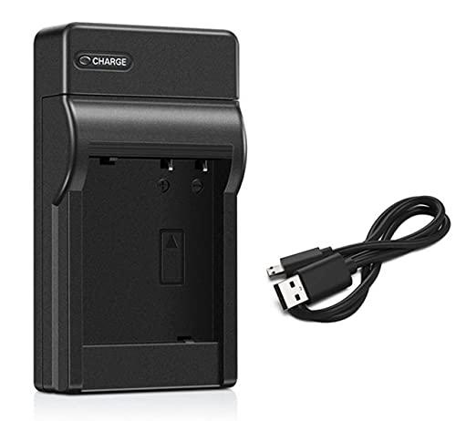 HANXIAOLONGA Cargador de batería para videocámara Handycam Sony DCR-SR52, DCR-SR52E, DCR-SR55, DCR-SR55E, DCR-SR57, DCR-SR57E, DCR-SR58, DCR-SR58E (Color : 1x Micro USB Charger)