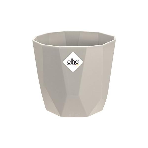 Elho B.for Rock Maceta, Warm Grey, 16 cm