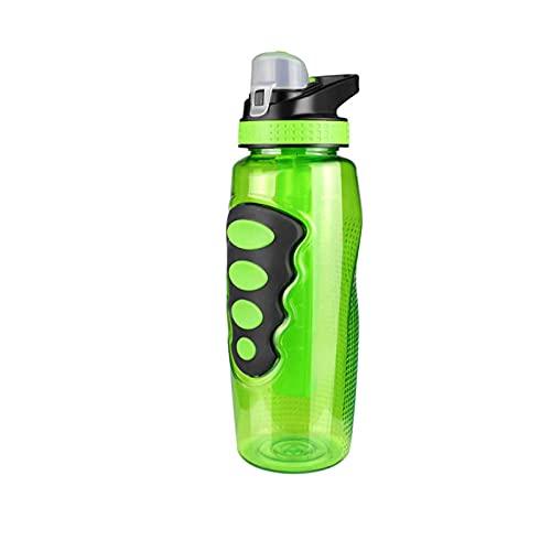 Botella de Deporte, Copa de Agua de Deporte de plástico sin tóxica no tóxica, BPA, Taza de Espacio a Prueba de Fugas portátil para Gimnasio al Aire Libre