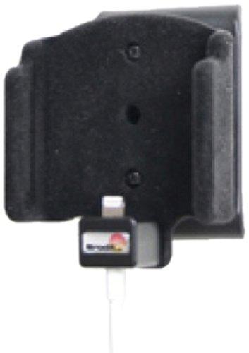 Brodit 514433 houder kabel bevestiging met bliksem tot 30 pin adapter kabel, kantelbaar draaibaar, gewatteerd voor Apple iPhone 5/5S