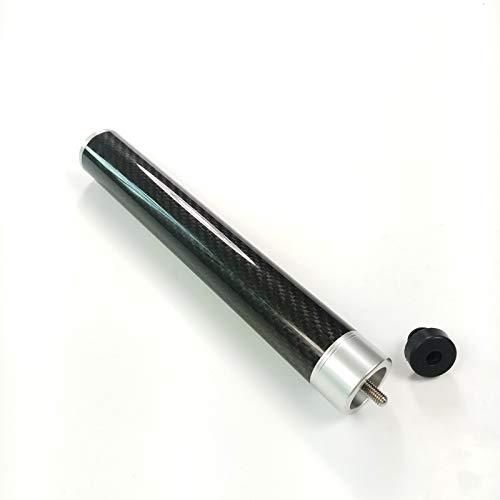 NO LOGO LSB-TAIQIU, 1pc 9inch Carbon mit Aluminium-Pool Billard Queue-Erweiterung fit for Mezz Pro Cue erweitern Billard Zubehör (Farbe : Black 9inch)