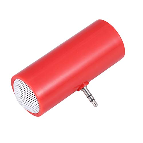 Healifty Mini Portable Speaker Mobile Phone Speaker Line-in Speaker Compatible for iPhone Android Phones iPad Tablet (Without Battery)