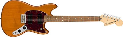 Fender Mustang 90 - Pau Ferro - Aged Natural