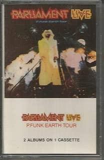 Parliament LIVE P Funk Earth Tour 2 Albums on 1 CASSETTE Tape