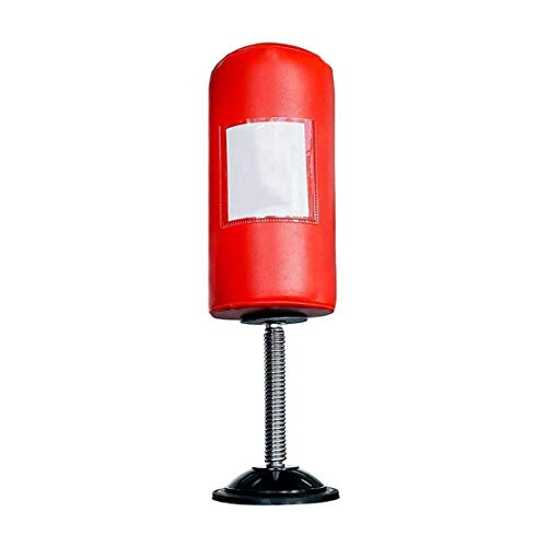 LRX Boxsäcke Desktop-Druckentlastung Kugel Boxing Boxsack-Druck-Helfer, Unterdruck Boxsack mit Foto-Platzierung, Sauger Pumpe Tragbarer Speed Ball
