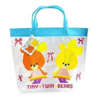 TINY★TWIN★BEARS【ルルロロ】プールバッグ (ビニールバッグ) ブルー