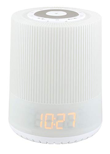 Soundmaster UR230 -Wekkerradio met wake-up lamp en nachtverlichting - wit