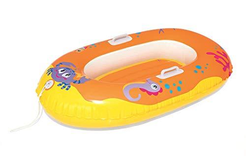 Bestway Kinderboot Krusti, 3-6 Jahre, Sortiert (119 x 79cm, Orange)
