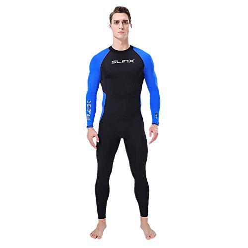Dasongff Herren - Neoprenanzug für Alle Wassersportarten, Monopiece Tauchanzug in voller Länge