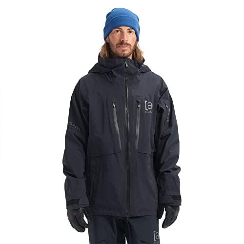Burton Herren Ski- Snowboardjacke M AK Gore HVR SR JK, Größe:S, Farben:True Black