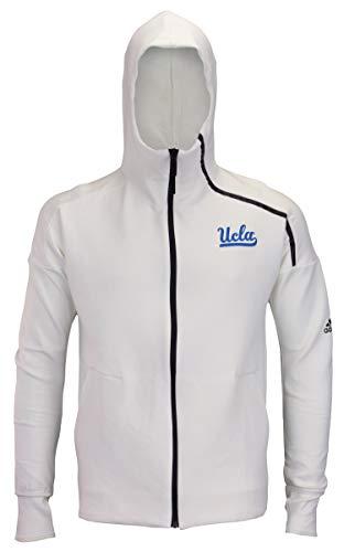adidas NCAA UCLA Bruins - Sudadera con capucha para hombre, color blanco, XXL, Blanco