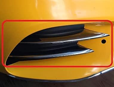 para M.B. A serie W177 AMG Line Hatchback 2019+ cromo niebla luz llanta cubierta de la lámpara de acero inoxidable 4 piezas