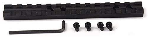 QFL Tactical 20mm 13 Slots Picatinny Weber-Schienen-Base-Adapter Jagdgewehr-Gewehr-Bereich, Schwalbenschwanz Bereicheinfassung Alle Metallmaterialien