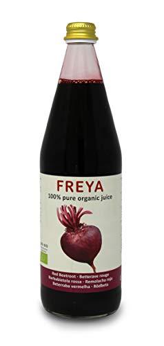 Carioni Food & Health sap van rode biet, 100% puur biologisch extract, citroenkorrels, 0,75 l, 6 stuks