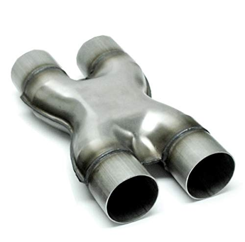 Lawson Industries 66925 Stainless Steel Stamped X-Pipe