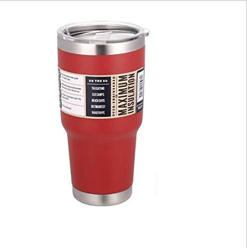 Smart Travel Taza de café Taza de agua de acero inoxidable Termo Vaso Tazas Termo de Vacío Termo Tazas Botella Termo Naranja