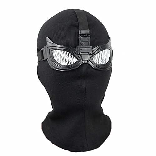 hcoser Far from Home SpiderMan Máscara Fibras de poliéster Halloween Cosplay...