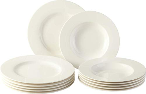 vivo by Villeroy & Boch Group Basic White Juego de mesa, 12...