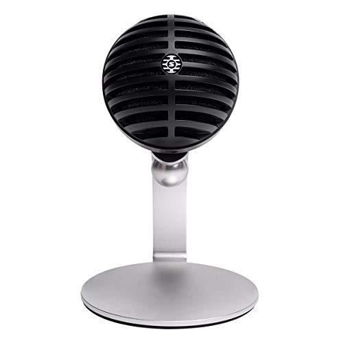 Shure Home Office Mikrofon, black, mv5 arbeit von zu hause aus packen, MV5C-USB*