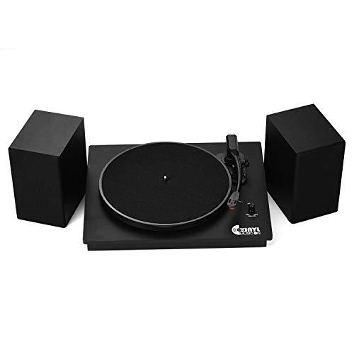 Qnotici VMO-014 Tocadiscos clásico para tocadiscos de