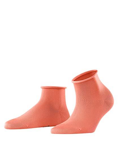 FALKE Damen Cotton Touch Short W SSO Socken, Rosa (Coral Rose 8961), 39-42