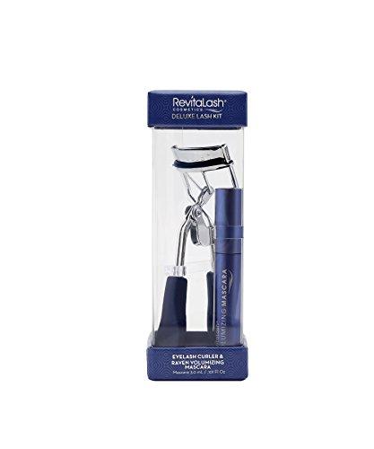 Revitalash Signature Eyelash Curler y Capa Superior Amplificadora para Pestañas, Negro - 1 Pack