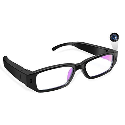 Mini Camara Espia Ocultas,LXMIMI 1080P Mini Cámara Espía con Gafas Micro Spy Camaras de Vigilancia